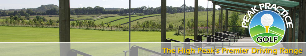 Peak Practice Golf outdoor bays Buxton High Peak