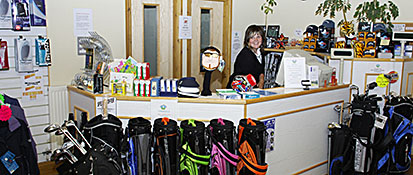 Friendly helpful reception staff at Buxton golf driving range Derbyshire